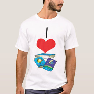 I Heart (Love) Tarot Cards T-Shirt
