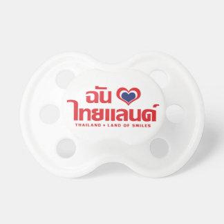 I Heart (Love) Thailand ❤ Thai Language Script Pacifier
