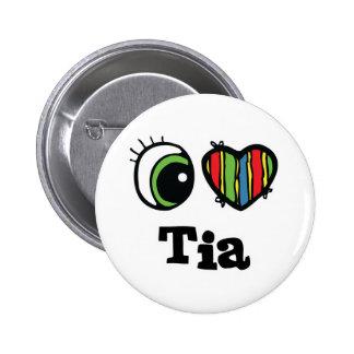 I Heart (Love) Tia Pins