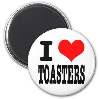 I HEART (LOVE) TOASTERS REFRIGERATOR MAGNET