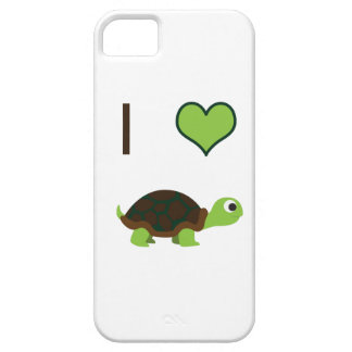 I heart (love) Turtles iPhone SE/5/5s Case
