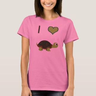 I heart (love) Turtles T-Shirt