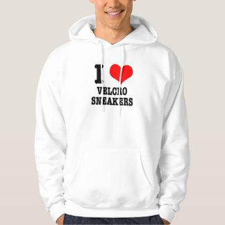 I HEART (LOVE) velcro sneakers Hoodie