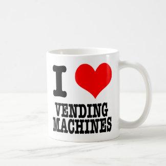I HEART (LOVE) VENDING MACHINES COFFEE MUG