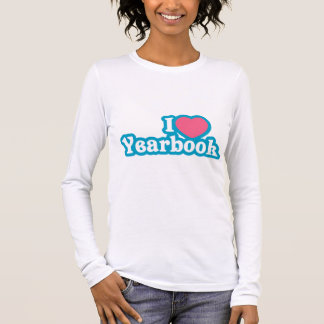 I Heart / Love Yearbook Long Sleeve T-Shirt