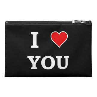 I Heart Love You Travel Accessories Bag