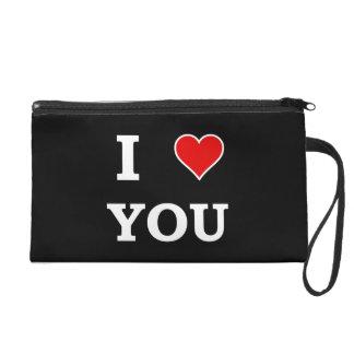 I Heart Love You Wristlet Purse