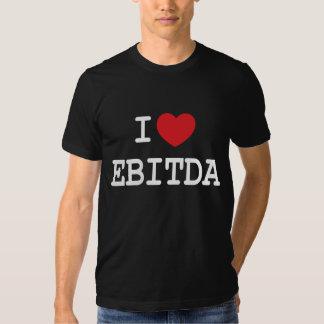 I heart / loveEBITDA T-shirt