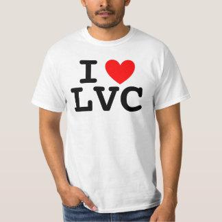 I Heart LVC Men's Tee - White