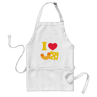 I Heart Mac and Cheese Adult Apron