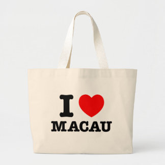 I Heart Macau Canvas Bags