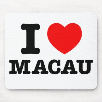 I Heart Macau Mouse Pad