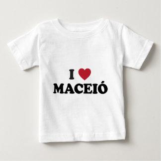 I Heart Maceió Brazil Baby T-Shirt