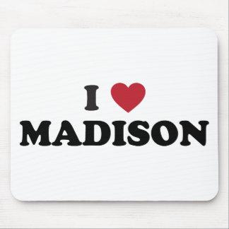 I Heart Madison Wisconsin Mouse Pad