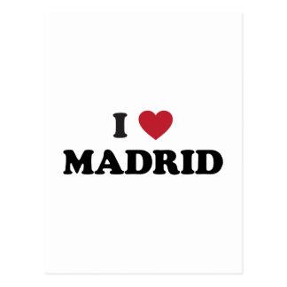 I Heart Madrid Spain Postcard
