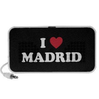 I Heart Madrid Spain Laptop Speaker