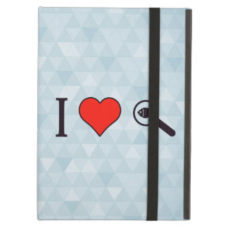 I Heart Magnifying Glasses Cover For iPad Air