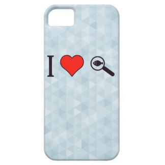 I Heart Magnifying Glasses iPhone SE/5/5s Case