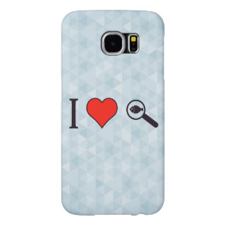 I Heart Magnifying Glasses Samsung Galaxy S6 Case