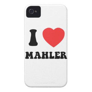 I Heart Mahler Case-Mate iPhone 4 Case