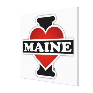 I Heart Maine Canvas Print