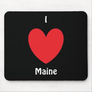 I Heart Maine Mousepad