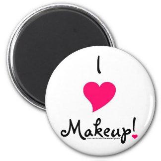 I heart makeup! refrigerator magnets