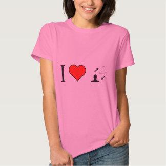I Heart Making Informed Decisions T Shirt