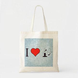 I Heart Making Informed Decisions Tote Bag