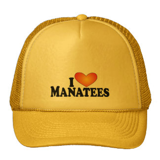 I (heart) Manatees - Lite Products Hat
