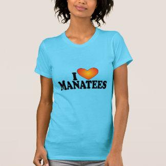 I (heart) Manatees - Lite Products T-Shirt