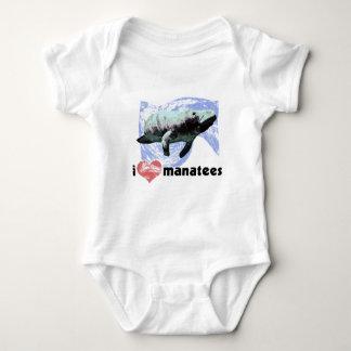 I Heart Manatees Tee Shirt