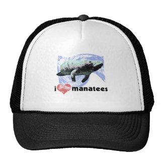 I Heart Manatees Trucker Hat