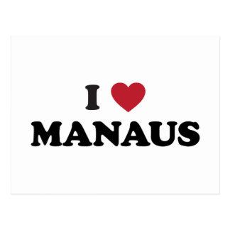 I Heart Manaus Brazil Postcard