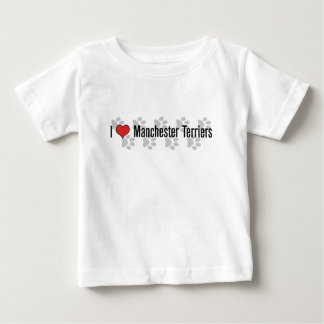 I (heart) Manchester Terriers Baby T-Shirt