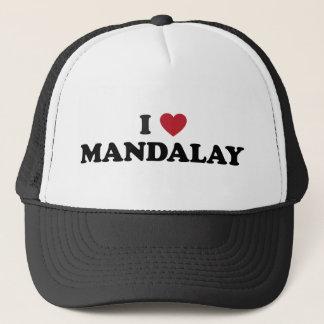 I Heart Mandalay Myanmar Trucker Hat