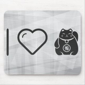 I Heart Manekis Mouse Pad
