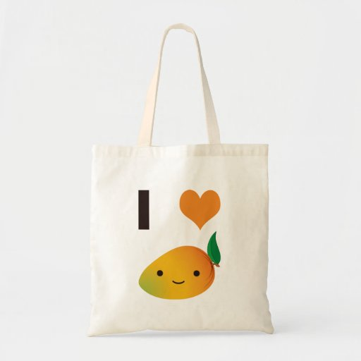 I Heart Mango Tote Bag