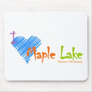 I Heart Maple Lake Mouse Pad