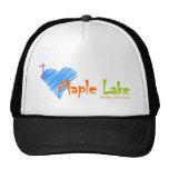 I Heart Maple Lake Trucker Hats