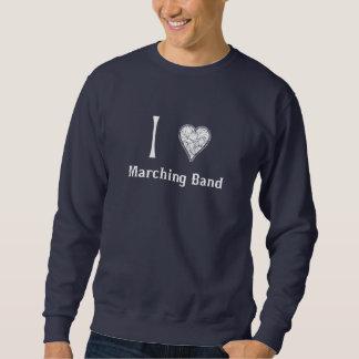I Heart Marching Band Sweatshirt