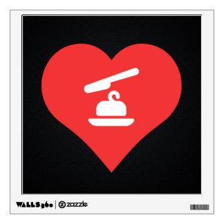 I Heart margarine Icon Wall Stickers