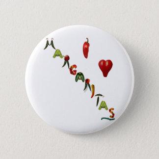 I Heart Margaritas Button