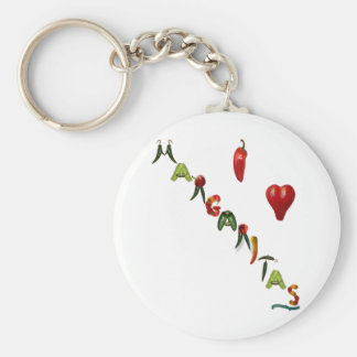 I Heart Margaritas Keychain