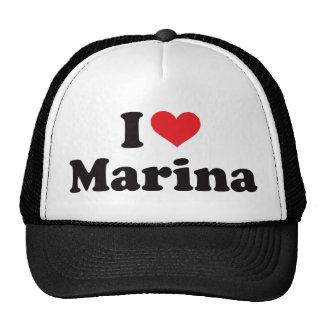 I Heart Marina Trucker Hat