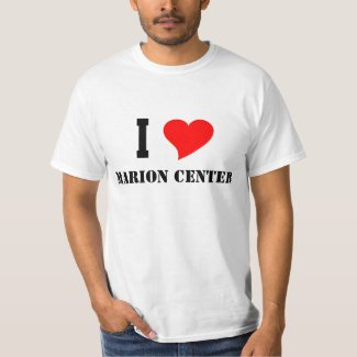 I Heart Marion Center T-Shirt