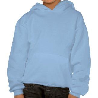 I Heart Mars Hooded Sweatshirt For Kids