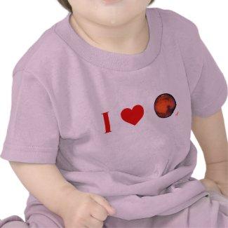 I Heart Mars Infant T-Shirt