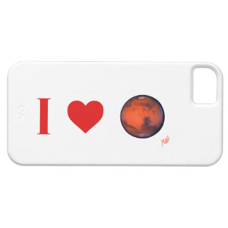 I Heart Mars iPhone 5 Case