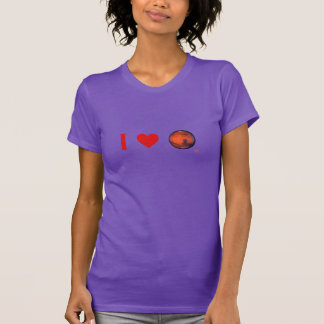 I Heart Mars Ladies Nano T-Shirt